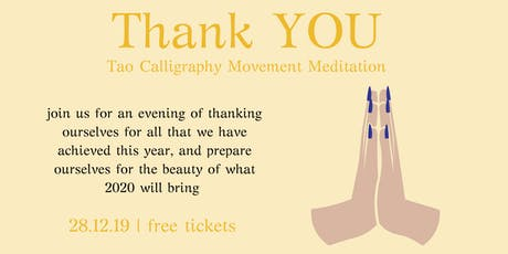 Tao Calligraphy Movement Meditation tickets