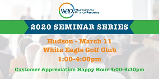 WBD 2020 Seminar Series - Hudson