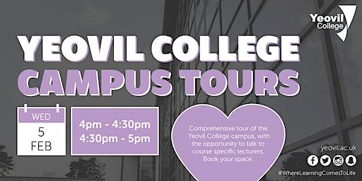Individual Yeovil College Campus Tours