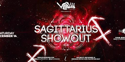Sagittarius Showout with DJ RAJ and Friends
