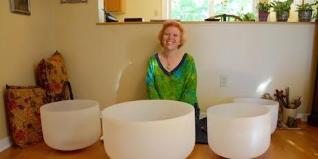 2020 New Year, New Beginning, Crystal Bowl Sound Meditation tickets
