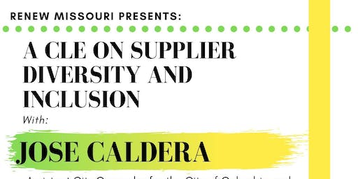 Supplier Diversity and Inclusion CLE