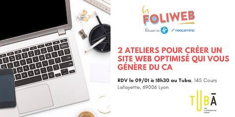 [Lyon] 2 ateliers pour créer un site web optimisé qui vous génère du CA tickets