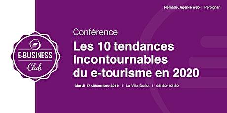 Les 10 tendances incontournables du e-tourisme en 2020 billets