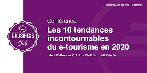 Les 10 tendances incontournables du e-tourisme en 2020
