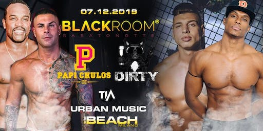 DIRTY Party - Saturday 07 December  - The Beach Club Milano