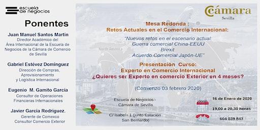 Mesa Redonda: Retos actuales en el Comercio Interncional