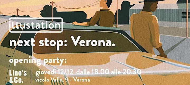 Immagine Lino's  & Co. Verona presenta ILLUSTATION - Opening Party