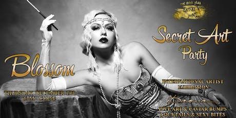 Secret Art Party - Blossom Art Show at Gatsby's tickets
