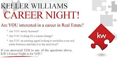 Keller Williams Career Night - $100 Scholarship Drawing for Atlanta Partners Real Estate School tickets