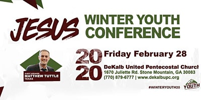 Winter Youth Conference 2020: JESUS