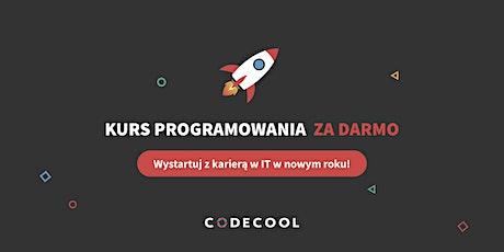 Kurs programowania w Codecool za darmo - wystartuj z karierą IT w Nowym Roku! tickets