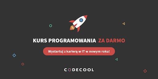 Kurs programowania w Codecool za darmo - wystartuj z karierą IT w Nowym Roku!