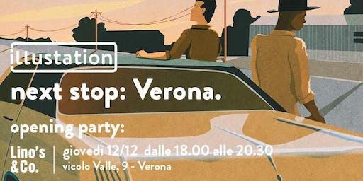 Lino's  & Co. Verona presenta ILLUSTATION - Opening Party