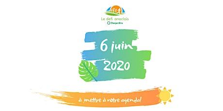 Défi anaclois Desjardins 2020 billets