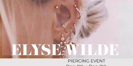 Elyse Wilde x Piercing Party