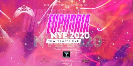 Blue Martini West Palm Beach EUPHORIA New Year's Eve 2020