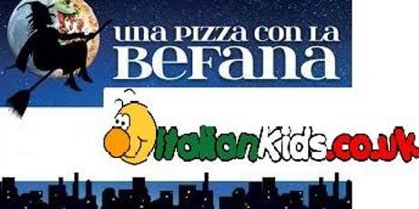 Befana Party -Film & Pizza tickets