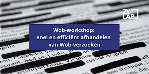 Wob-workshop - 28 mei 2020