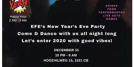 EFE New Year's Eve tickets