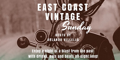 East Coast Vintage Party at Segafredo Lincoln Road tickets