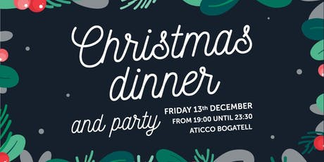 Aticco's Christmas Dinner and Party for AticcoFriends tickets