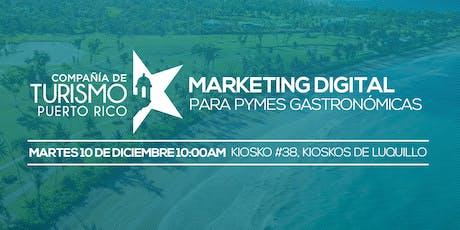 Marketing Digital para PYMES Gastronómicas entradas