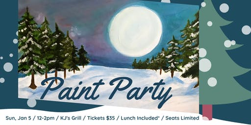 Winter Fun Paint Party