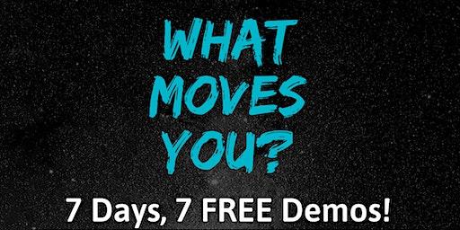 7 Days, 7 Free Demos!