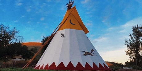 FULL SNOW MOON :: WOMEN'S SHAMANIC BREATHING CIRCLE + SOUND HEALING IN A TIPI tickets
