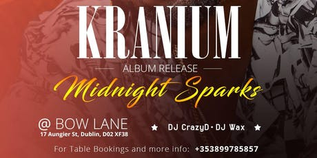 Kranium Live in Dublin tickets