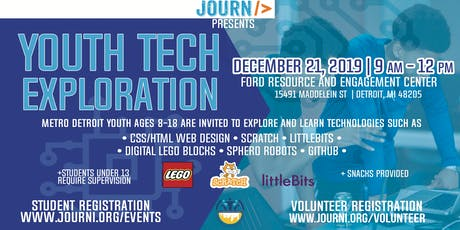 Youth Tech Exploration: December 21st tickets