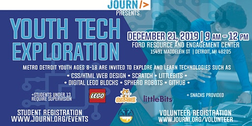 Youth Tech Exploration: December 21st