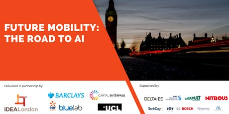 IDEAL Future Mobility X Barclays AI Frenzy and Dataholics – The Road to AI tickets