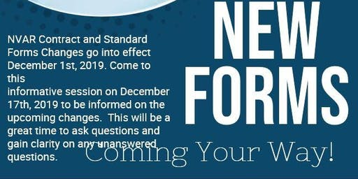 New Forms- Information Session