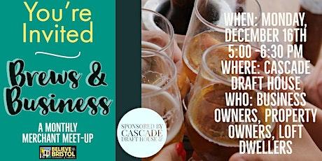 Brews & Business - December tickets