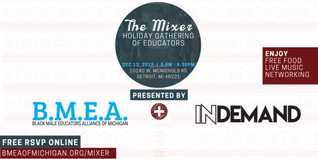 The Mixer: Holiday Gathering of Educators tickets