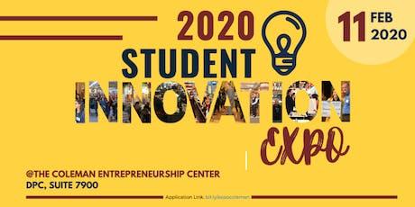 2020 Student Innovation Expo tickets