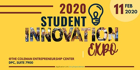 2020 Student Innovation Expo tickets