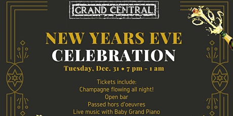 NYE at Grand Central Wine Bar tickets