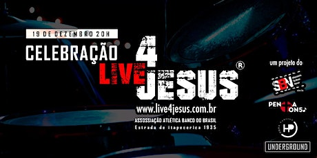 CELEBRAÇÃO LIVE4JESUS+HOPE PARKING SP / AABB SP ingressos