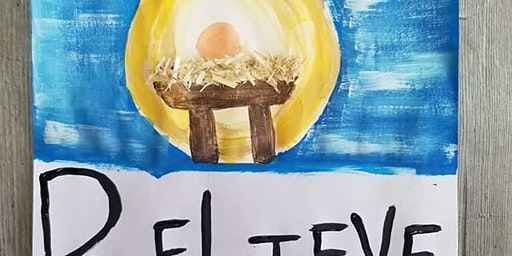 Baby Jesus Painting