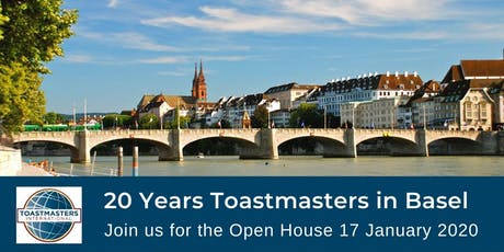 Toastmasters in Basel Open House tickets