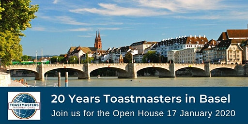 Toastmasters in Basel Open House