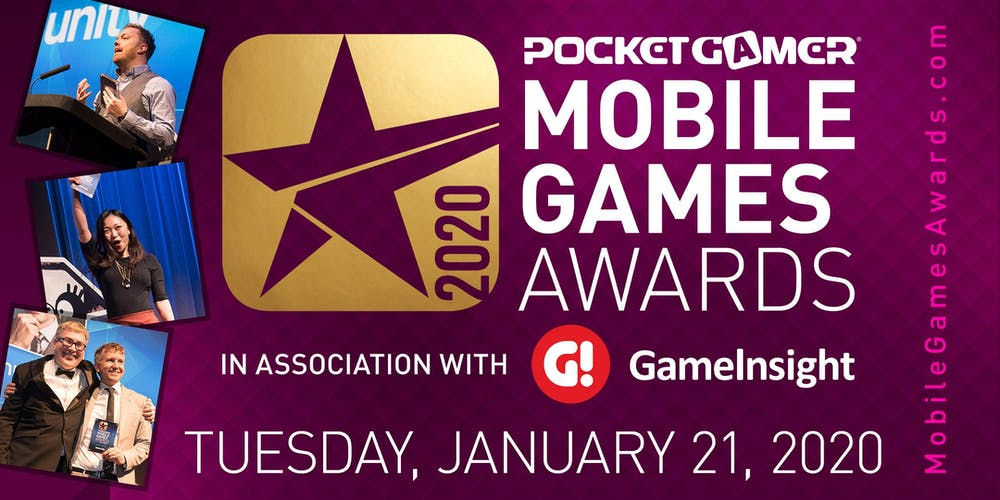 Games Awards 2020.The Pocket Gamer Mobile Games Awards 2020 Tickets Tue 21