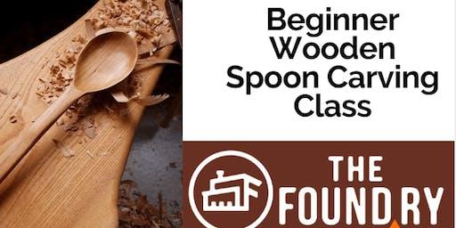 Beginner Wooden Spoon Carving Class