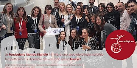 Festa di Natale della Fondazione Mondo Digitale biglietti