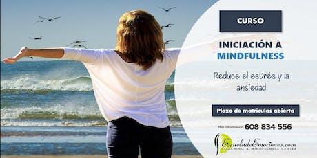 Curso: Iniciación a Mindfulness - confirmación previa entradas