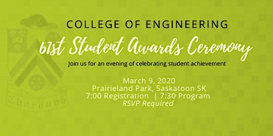 College of Engineering 61st Annual Awards Ceremony