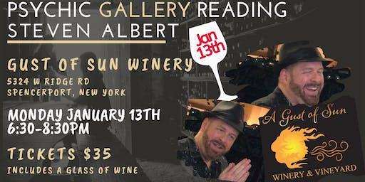 Steven Albert: Psychic Gallery Event - GustsofSun 1/13